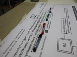 Farbsystem für Bemerkungen der Studierenden auf einem GRAFCET-Plan