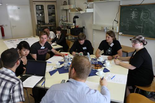 Brainstorming der Studierenden