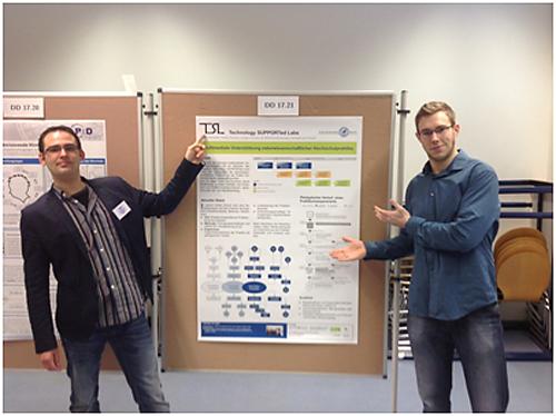 Posterpräsentation des Projektes TSL auf der DPG-Frühjahrstagung 2013