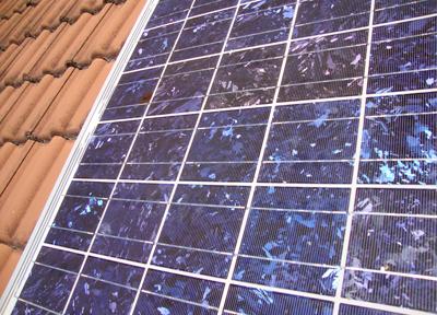 Einzelnes Solarmodul