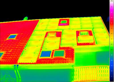 Wärmebild Solaranlage Stahnsdorf